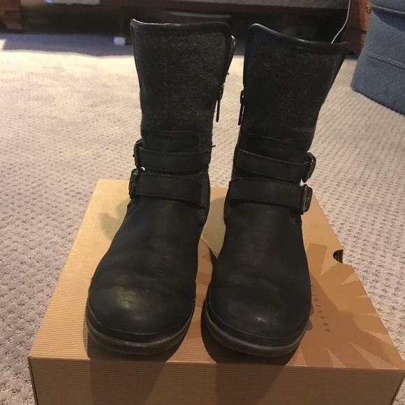 0e5d8b54d70 Ugg Simmens leather/wool women's boots size 7.5
